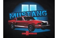 Shelby Red GT500 Mustang T-Shirt - Awesome Ford Mustang Image, Free USA Shipping