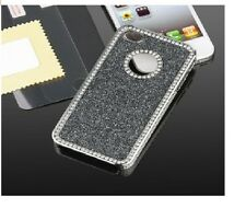 S*ACT Bling metal alumium glitter diamond hard back for apple iphone 5g 5s girls
