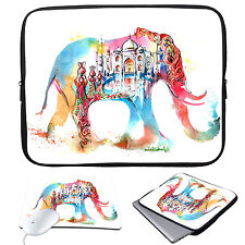 """Sleeve Case Bag+Mouse Pad For 13-15.6"""" Laptop Ultrabook MacBook Pro Air Acer HP"""