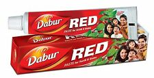 DABUR RED TOOTH PASTE AND POWDER FOR REDUCTION IN GUM DISORDERS & TOOTHACHE