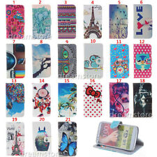 Fashion E Wallet Leather Skin Flip Folio Hybrid Case Cover Stand For LG G2 D802