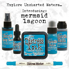 Tim Holtz Distress Mermaid Lagoon Color Of The Month Set 2015 MARCH Ranger
