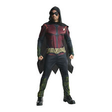 Adult Mens Robin Arkham Knight Batman Fancy Dress Halloween Costume