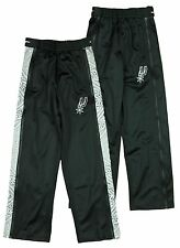 Zipway NBA Youth San Antonio Spurs Paisley Tear-Away Track Pants, Black