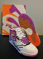 FILA KJ7 RETRO PHOENIX SUNS purple orange Kevin Johnson QUICK SHIP! Hoop! Kings!