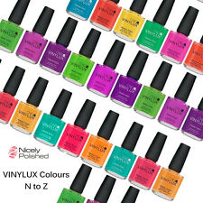 Genuine CND Vinylux Nail Polish - All New COLOURS - N to Z Trusted UK Seller