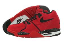 Nike Air Flight 89 306252-600 Suede Fashion Basketball Shoes Medium (D, M) Men