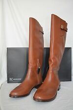 INC INTERNATIONAL CONCEPTS COCO TALL RIDING BOOTS LUGGAGE LEATHER 6,6.5,7,11, 5