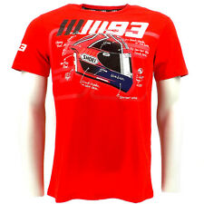 Marc Marquez 93 Ant Shoei Helmet Moto GP T-shirt Red Official 2015
