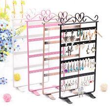 Pro 48 Hole Earrings Jewelry Display Rack Metal Stand Holder Showcase 4 Colors