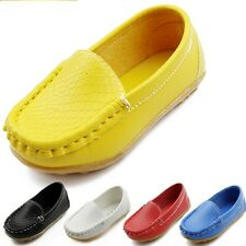 Hot Sell Boy's Girl's Casual Oxfords Baby Flats Boat Shoes Cheap Child Shoes