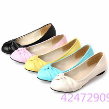 Womens Ladies Flats Low Heels Court Shoes Sandals Loafers Pumps AU Size Z560