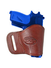 NEW Barsony Burgundy Leather OWB Yaqui Holster Beretta, Taurus Mini Pocket 22 25