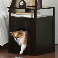 Cat Dog Bathroom Night Stand Bed Table Furniture Pet House Litter Box Cover Unit