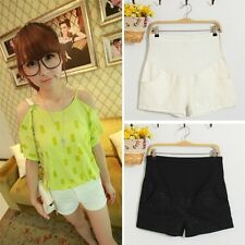 Gift Trendy Fashion Lady Shorts Pregnant Women Lace Shorts Prop Belly Trousers