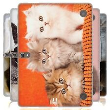 HEAD CASE CATS SILICONE GEL CASE FOR SAMSUNG GALAXY TAB S 10.5 LTE T805