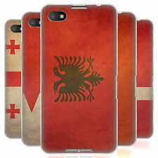 HEAD CASE VINTAGE FLAGS SET 6 SILICONE GEL CASE FOR BLACKBERRY Z30