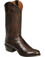 Lucchese Since 1883 M1023 J4 Mens Antique Walnut Calf Cowboy Western Boots