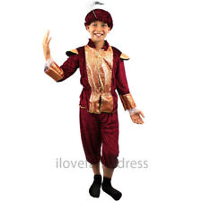 RICH TUDOR BOY COSTUME RENAISSANCE PRINCE MEDIEVAL FANCY DRESS SCHOOL CURRICULUM