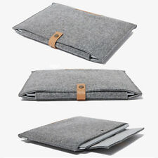 Grey Envelope Laptop Sleeve Shell Bag Cover Case For MacBook Air Pro 11 13 15""