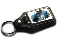 BMW Z4 Convertible Car Koolart Quality Leather Chrome Keyring Choose a Colour!
