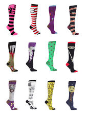 SOCK it TO me KNEE HIGH tube SOCKS novelty FUN WOMENS fashion various STYLES