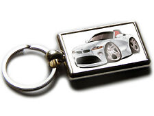 BMW Z4 Convertible Koolart Quality Chrome Keyring Picture Both Sides