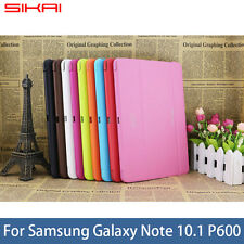 Business Leather Case Skin Cover For Samsung Galaxy Note 10.1 2014 Edition P600