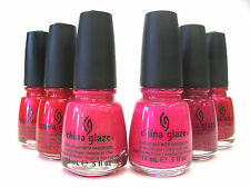 China Glaze Polish - Pink Fuchsia Colors - 009,195,209,715,1141 **OVERSEA**