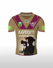 Manly Sea Eagles NRL 2015 KIDS ISC ANZAC Day Jersey Sizes 8-14! BNWTS!