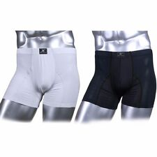 Mens Compression Boxer Shorts Mesh DD Under Base Layer Inner Wear Mesh Boxers