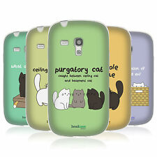 CEILING CAT VS BASEMENT CAT CASE IN GEL PER SAMSUNG GALAXY S3 III MINI I8190