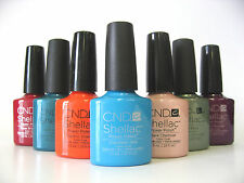 CND Shellac Power Polish UV Color Coat Gel - Alphabetical from A to I - choose 1
