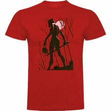 CAMISETA THE WALKING DEAD SERIE TV SHOW FUNNY DIVERTIDAS MICHONNE T-SHIRT SIL