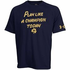 Under Armour Notre Dame Fighting Irish Navy Blue Play Like A Champion T-Shirt
