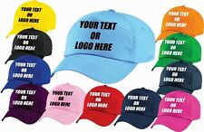 Personalised Custom Printed Embroidered Cap Baseball Cap Trucker Hat Text Logo