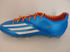MENS ADIDAS F30 TRX FG FIRM GROUND FOOTBALL BOOTS BLUE RRP £89.99 NEW BOXED
