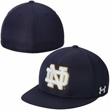 Under Armour Notre Dame Fighting Irish Navy Blue On Field Baseball Fitted Hat