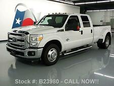 Ford : F-350 2014   CREW DIESEL DUALLY 6PASS SIDE STEPS 54K