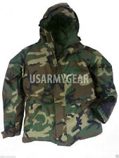 New US Army Cold Wet Weather Gen 1 ECWCS Woodland Goretex Parka Jacket S M L XL
