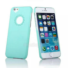 Cute Lovely Hollow Heart Girl Back Hard Case Cover Skin for iPhone 5 5S 6 6Plus