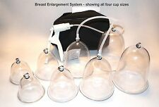 Breast Enlargement System - deluxe with airlocks, High quality, 1 yr warranty!!!