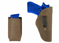 New Barsony Olive Drab IWB Holster + Mag Pouch Ruger Star Full Size 9mm 40 45