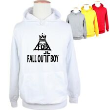 Women Men Fashion Sale FOB FALL OUT BOY Graphic Sweatshirt Hoodie Jumpers Tops