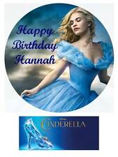 Disney Cinderella Movie 2015 Personalized Edible Cake toppers cupcakes Precut