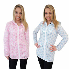 Womens Festival Mac Brave Soul Cameroon Ladies Floral Lace Hooded Rain Jacket