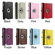 Leather 360 Degree Rotating Stand Case Cover for Apple iPad Mini 3 2 1