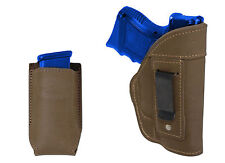 NEW Barsony Olive Drab Leather IWB Holster + Mag Pouch Springfield Comp 9mm 40