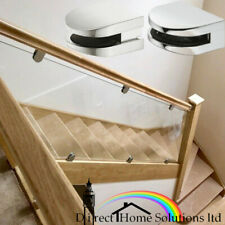 1 x GLASS STAIRCASE CLAMP SUPPORT 10mm - Highest Quality