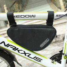 New  Bike Bicycle Cycling Accessories Triangle Bag Front Tube Frame Bag Pouch